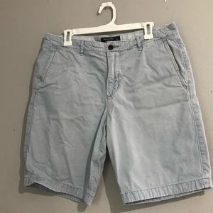 Abercrombie and Fitch Blue Grey Mens Shorts